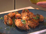 Dad's Roast Chicken -- My Way with a Parsley Lemon Juice Oil