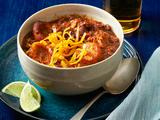 Pork-Bean Chili With Corn Dumplings