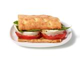 Almost-Famous Tomato, Basil and Mozzarella Flatbread Sandwiches