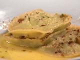 Broccoli Rabe Ravioli with Parmigiano and Pistachios 2