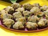 Artichoke and Cheese Stuffed Mushrooms