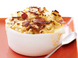 Dressed-Up Bacon Mac and Cheese