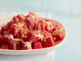 Coconut-Watermelon Salad