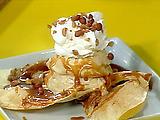 Mexican Caramel Sundaes