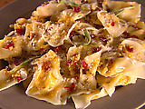 Butternut Squash Tortellini with Brown Butter Sauce