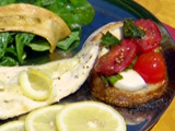 Angler's Creekside Grilled Bruschetta