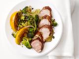 Five-Spice Pork With Roasted Oranges and Broccoli