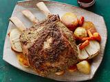 Standing Rib Roast with Cabernet au Jus