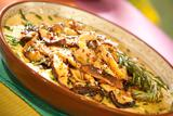 Sauteed Wild Mushrooms over Creamy Cheesy Polenta