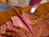 Roast Beef with Ginger and Jus