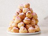 Candy Cane Croquembouche