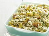 Minted Squash-Orzo Salad