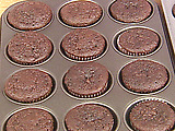 Quick Double Chocolate Cupcakes