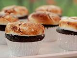 Chocolate Cupcakes with Burnt Orange Marshmallows
