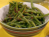 Green Beans with Apple Cider
