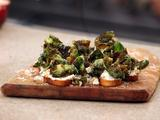 Ricotta Crostini with Brussels Sprouts