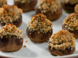 Stuffed Mushrooms with Pecorino and Herbs