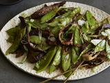Chili Beef Stir-Fry with Scallions and Snow Peas