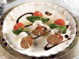 Italian Sausage Caprese Skewer