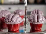 Red Velvet Brains Cupcakes