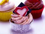 Vanilla Bean Hazelnut Cupcakes