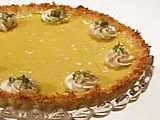 Coconut Crusted Key Lime Pie