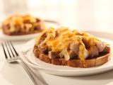 Round 2 Recipe - Open Faced Roasted Pork Sandwich