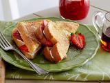 Strawberry-Cream Cheese Stuffed French Toast