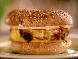Kitchen Sink Frittata Bagel Sandwich