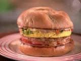 Grilled Bologna Burger