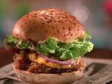 Panko-Crusted Portobello Mushroom Burger