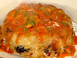 Spaghetti Timpani (Timpano Aglio Olio)