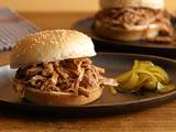 Slow Cooker Pulled Turkey Sandwiches
