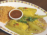 El Cholo's Green Corn Tamales