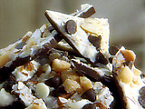 White Chocolate Macadamia Nut Bark