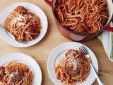 Spicy Turkey Meatballs and Spaghetti