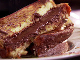 Chocolate Hazelnut Stuffed French Toast
