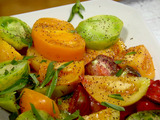 Heirloom Tomatoes with Tarragon