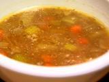 Rich Beef Barley Soup
