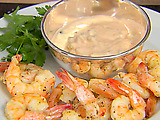 Roasted Shrimp with Thousand Island Dressing