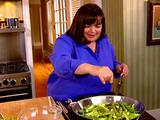 Sauteed Asparagus and Snap Peas