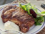 Steaks and Stilton Sauce