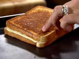 Mary's Grilled Cheese Sandwich with Pepper Jack and Bacon Oil