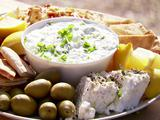 Easy Tzatziki with Feta