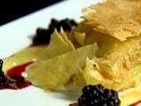 Lemon Cream Fillo Napoleon