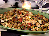 Basil Chicken Hash