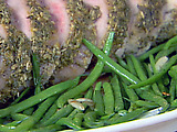 String Beans with Garlic