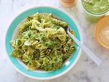 Pasta, Pesto, and Peas