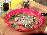 Potato, Spinach and Tomato Soup