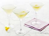 Lemon and Vodka Martinis